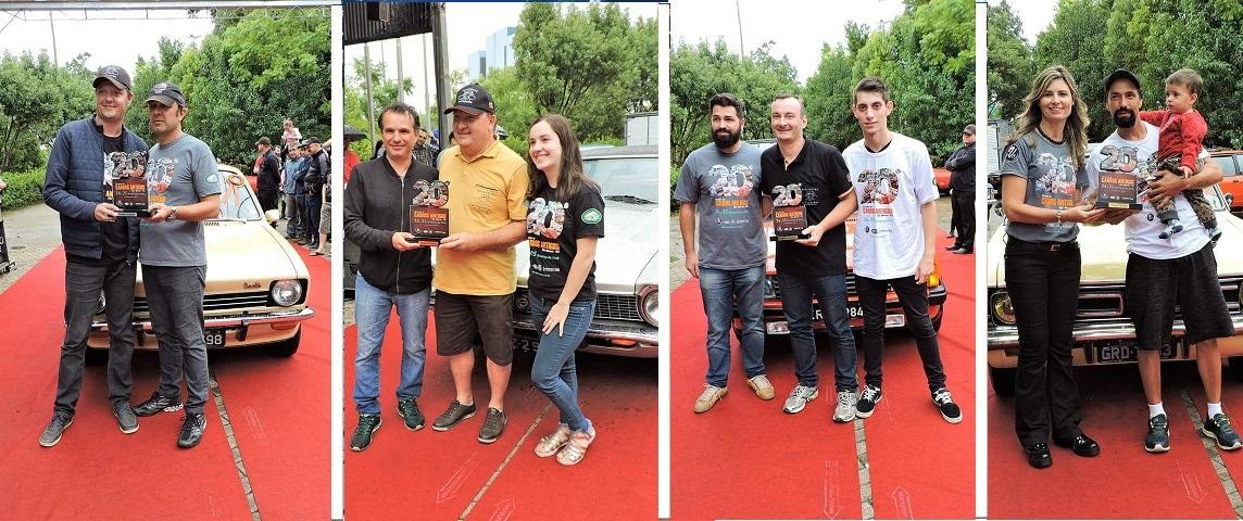 Premiados em São Marcos/RS