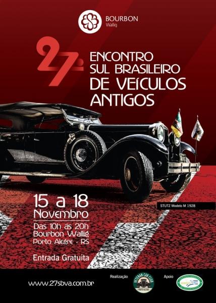 27º Encontro Sul Brasileiro de Veículos Antigos - POA/RS