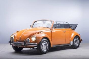 1972 VW Beetle Convertible Karmann Ghia