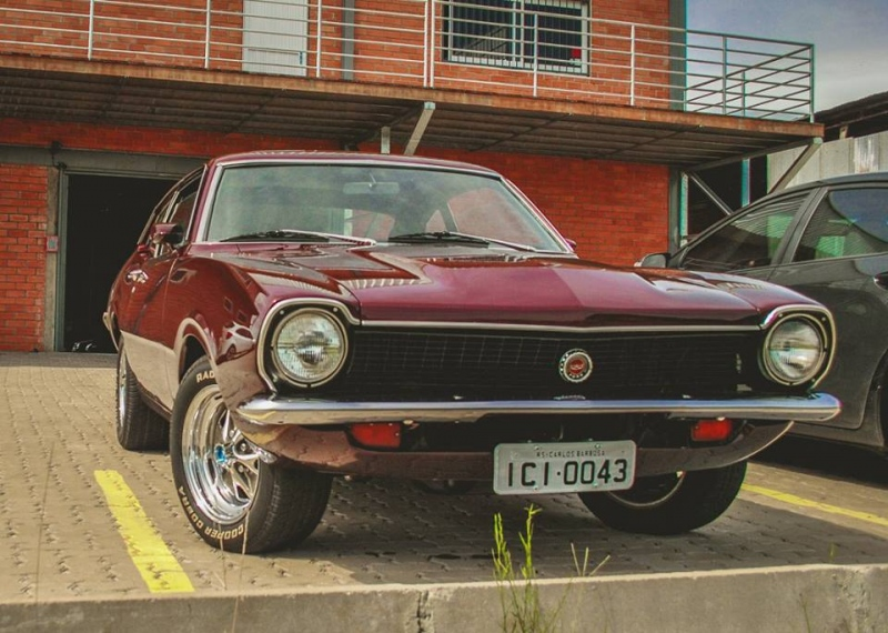 1975 Ford Maverick.