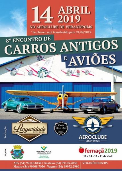 8º Encontro de Carros Antigos e Avioes - Veranopolis/RS