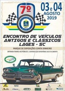 7º Encontro de Veículos Antigos e Clássicos – Lages/SC