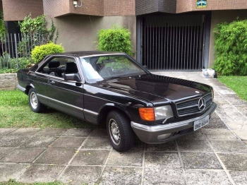 1982 Mercedes Benz 500SEC