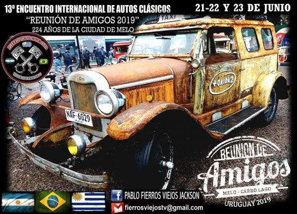 13° Encuentro Internacional de Auto Clásicos - Melo, UY