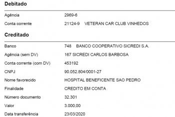 Doações 2020 - R$ 11050