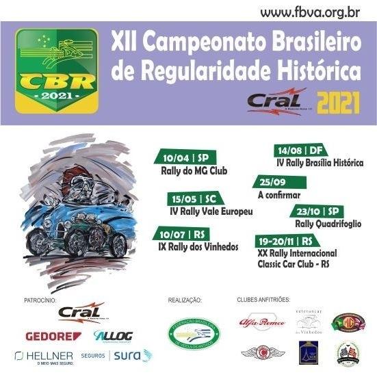 CBR - Rally de Regularidade 2021